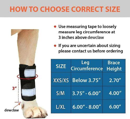 Leg-Splint-Braces-chart